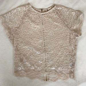 Lace Crop Top - brand is Cotton Candy
